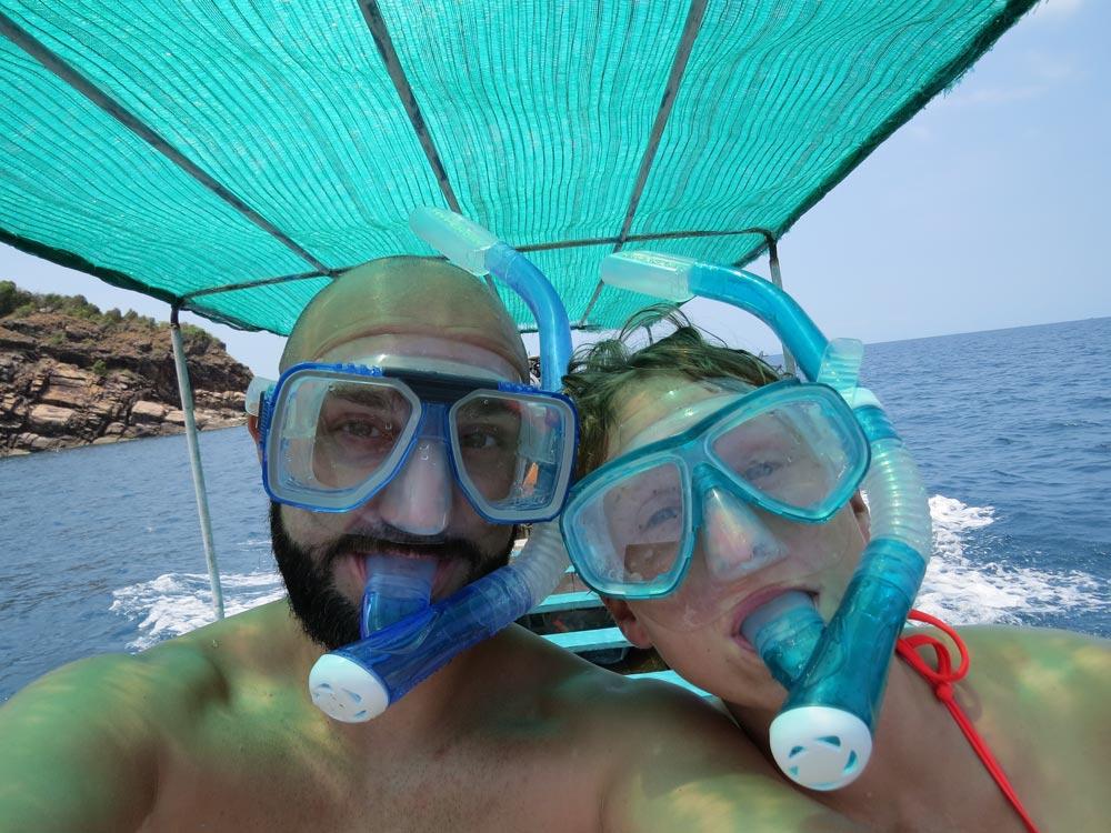Als Paar um die Welt: Schnorcheltour in Thailand (© www.wetraveltheworld.de)