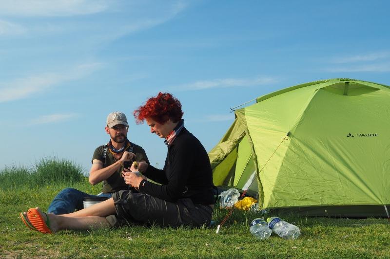 Als Paar um die Welt: Camping in Griechenland (© www.2malweg.eu)