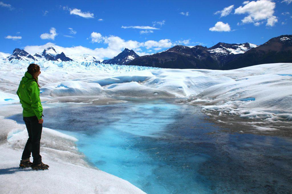 Ice Trekking auf dem Perito Moreno Gletscher in Patagonien: Eis soweit das Auge reicht!