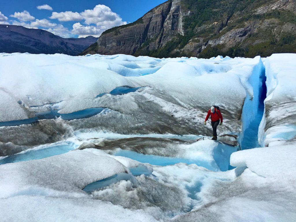 Zwischen Gletscherspalten und unendlich viel Eis: Trekking auf dem Perito Moreno Gletscher