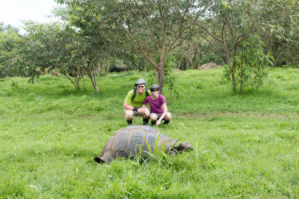 Als Paar um die Welt: Suzy und auf den Galapagos Inseln (© www.suzy-bis-zum-horizont.de)