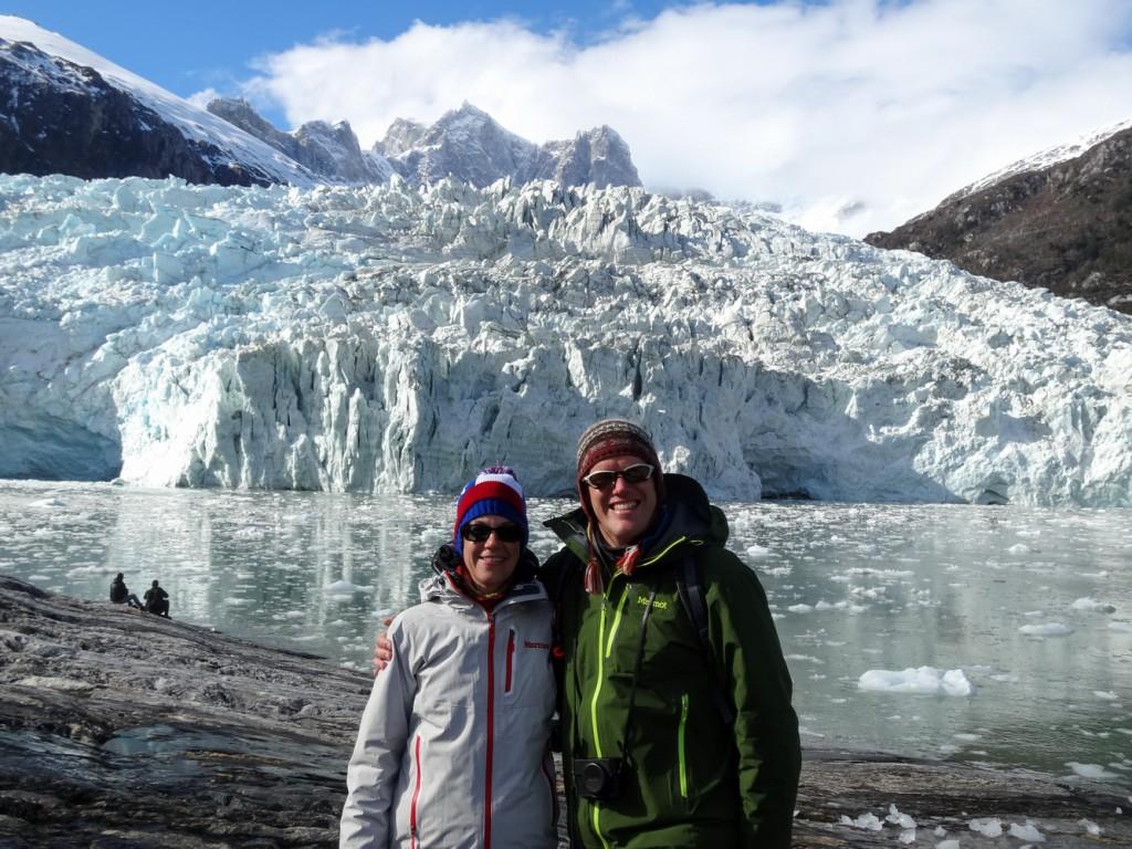 Als Paar um die Welt: Suzy und Lars in Patagonien (© www.suzy-bis-zum-horizont.de)