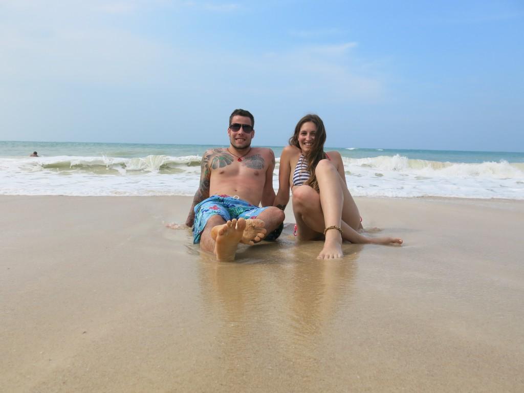 Als Paar um die Welt: Die erste gemeinsame Reise ging nach Thailand (© www.loveandcompass.de)