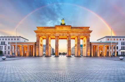 Der Klassiker in Berlin: Brandenburger Tor