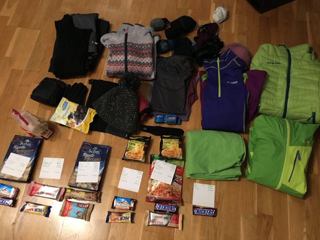 Packen für das Trekking im Torres del Paine Nationalpark: Jedes Gramm ist zu viel!