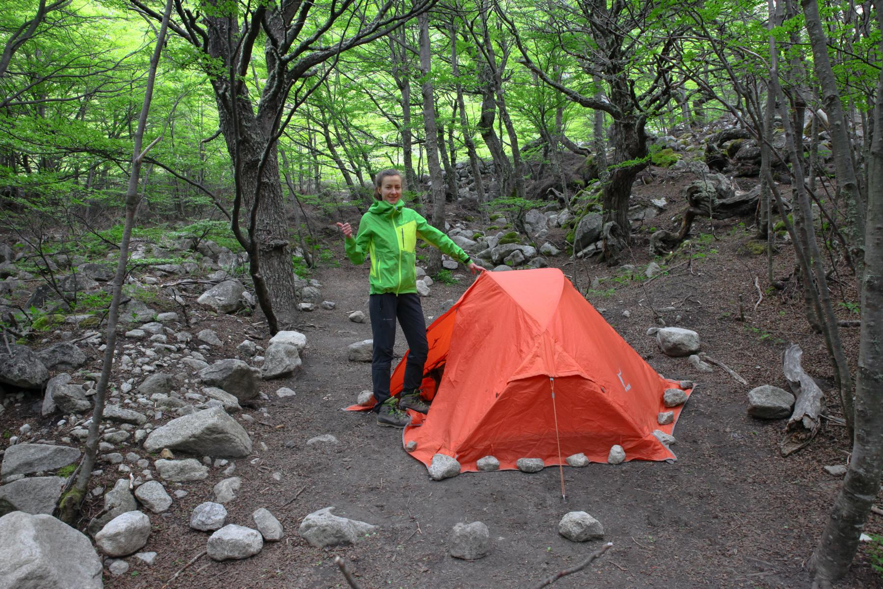 Kostenloses Camping im Torres del Paine Nationalpark