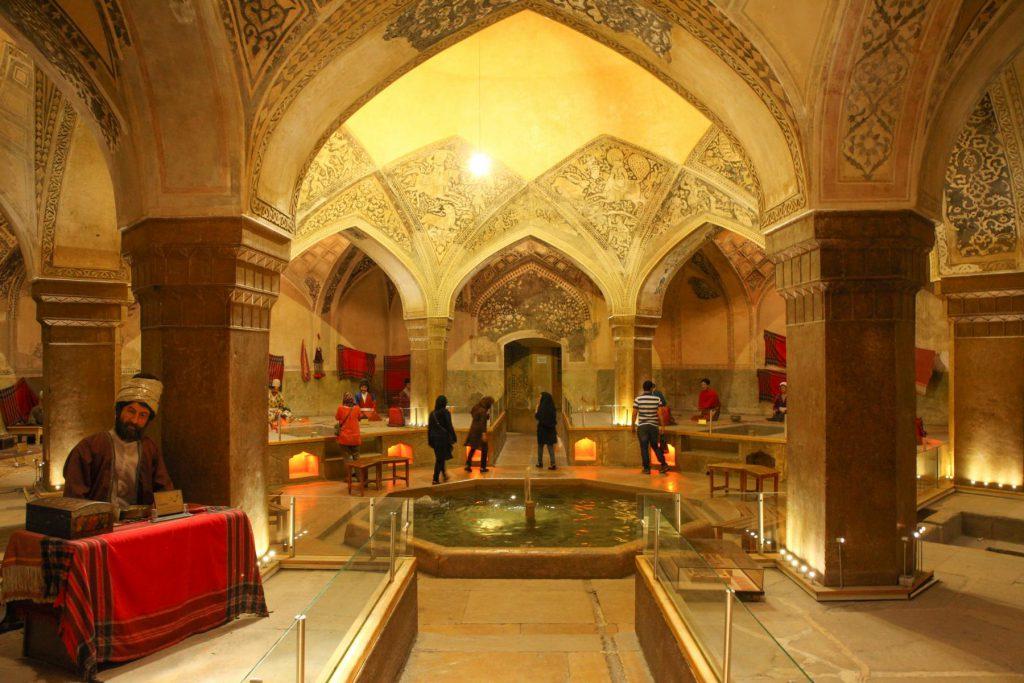 Reisetipp Shiraz: Das Vakil Badehaus ist beeindruckend, die Ausstellung eher unnötig.