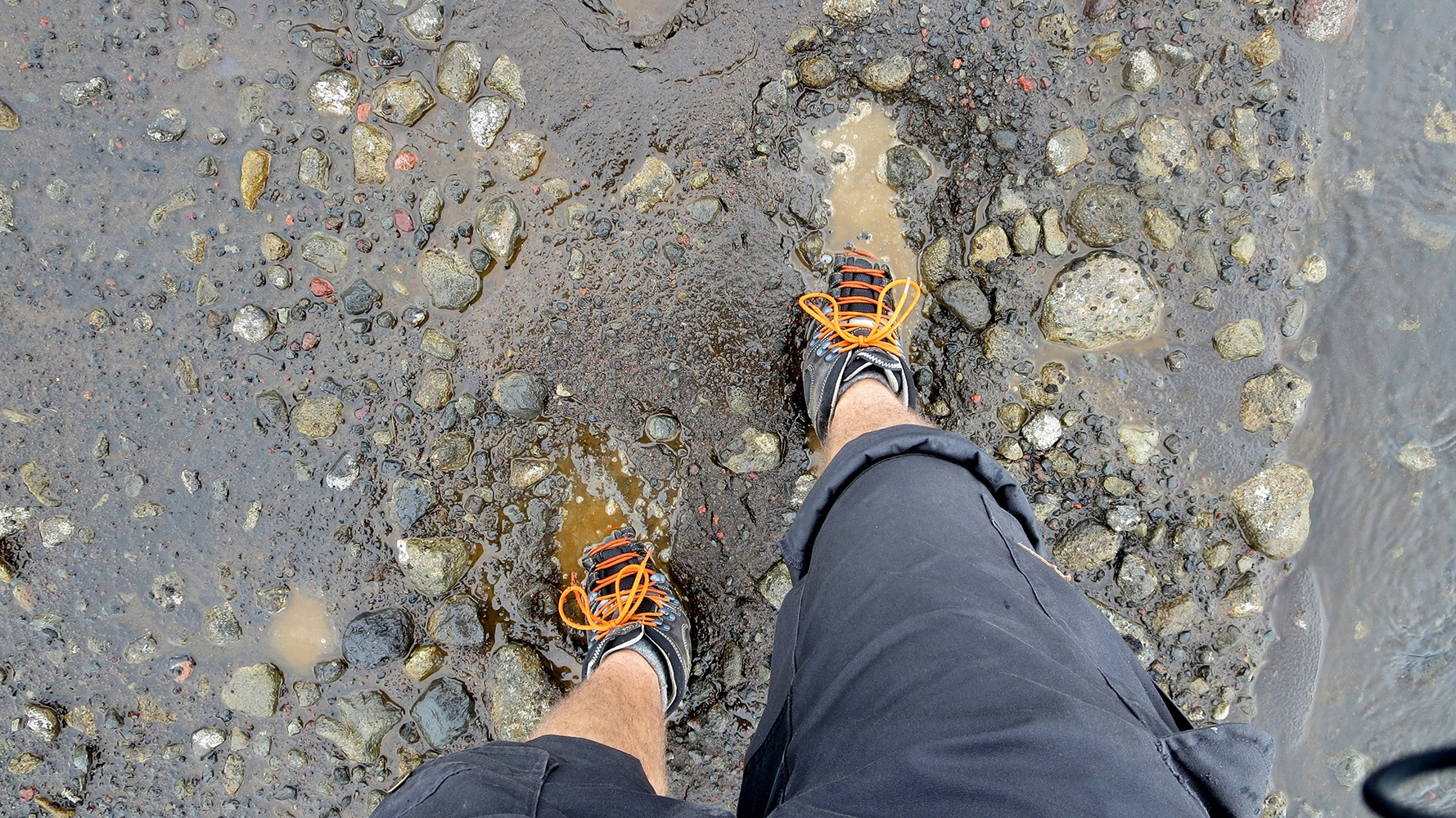 Zu Fuß durch Island: Hat ja auch keiner gesagt, dass das leicht wird!