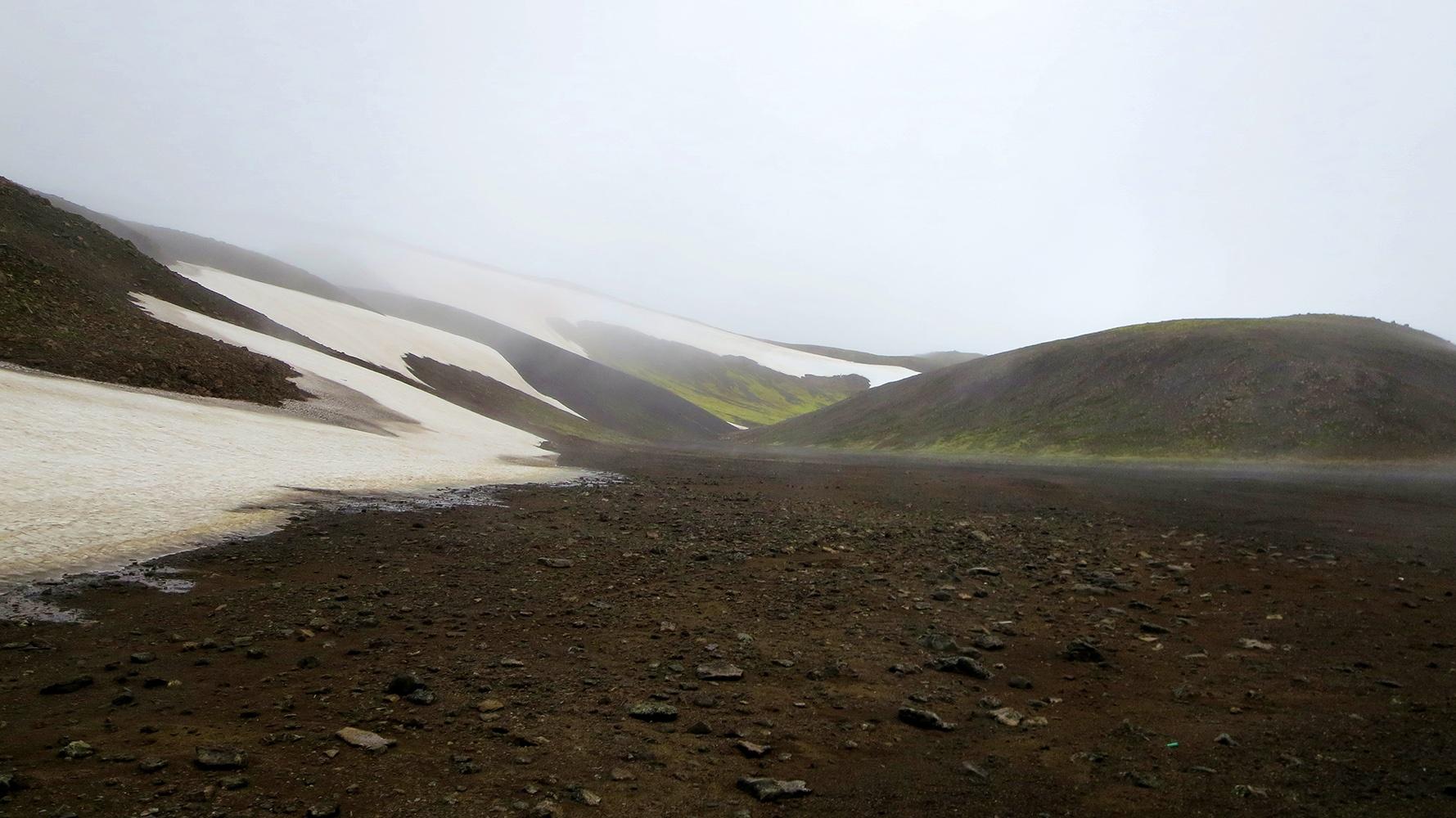 Zu Fuß durch Island: Und dann kam der Schnee...