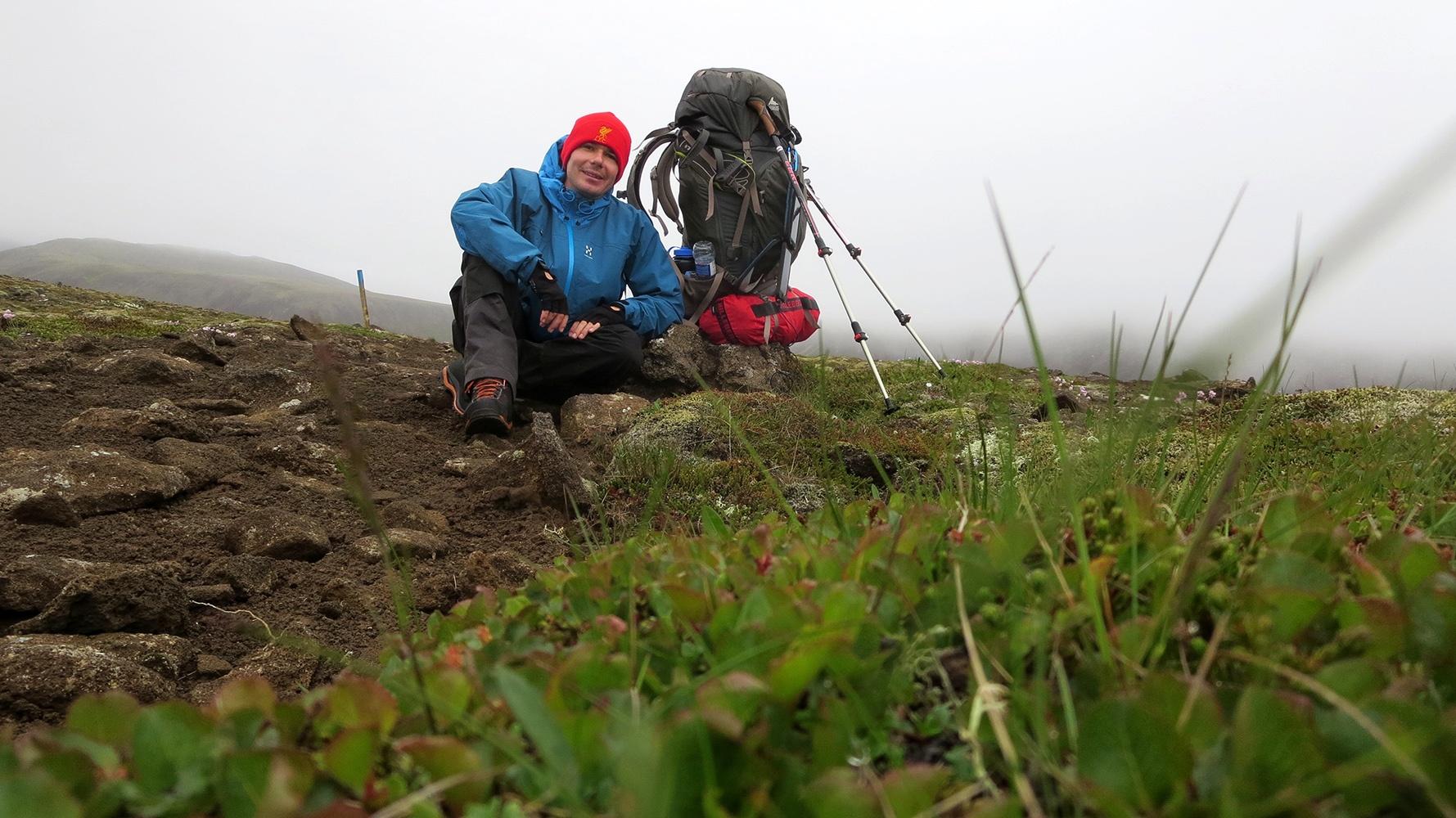 Zu Fuß durch Island: Das Abenteuer von David Franz beginnt!
