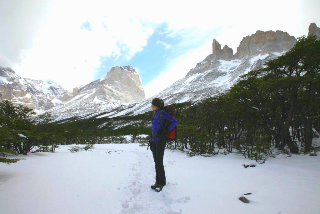 Weiterlaufen bei Wind und Wetter: Patagonien ist eine Wundertüte.
