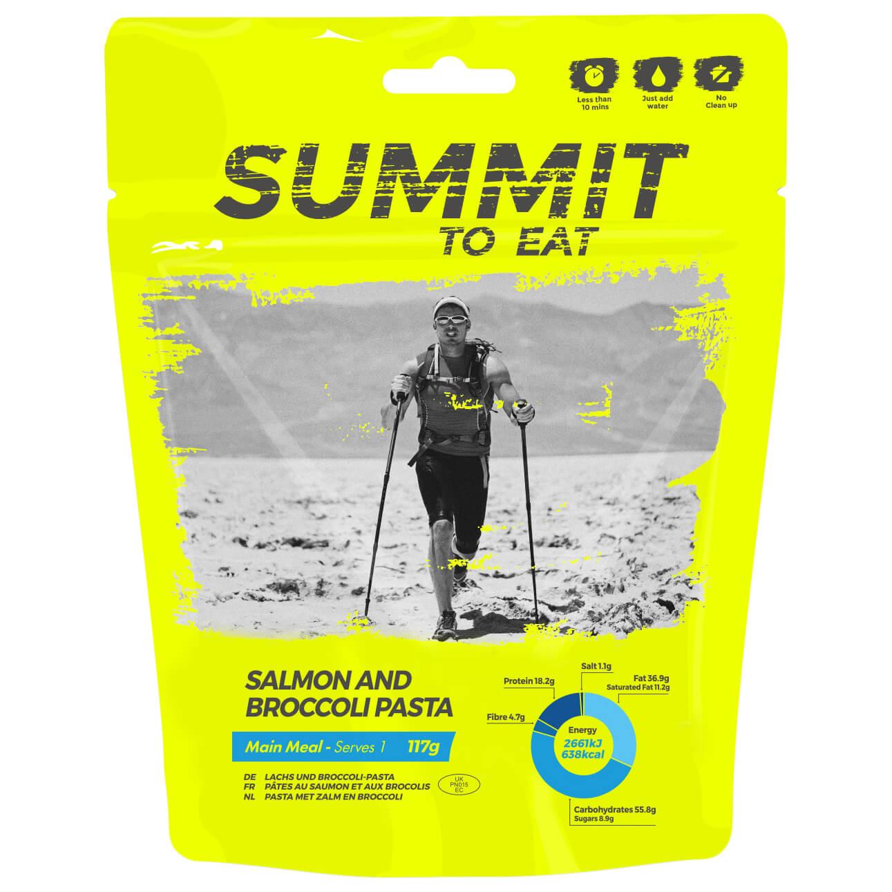 Outdoor-Nahrung im Test: Summit to Eat