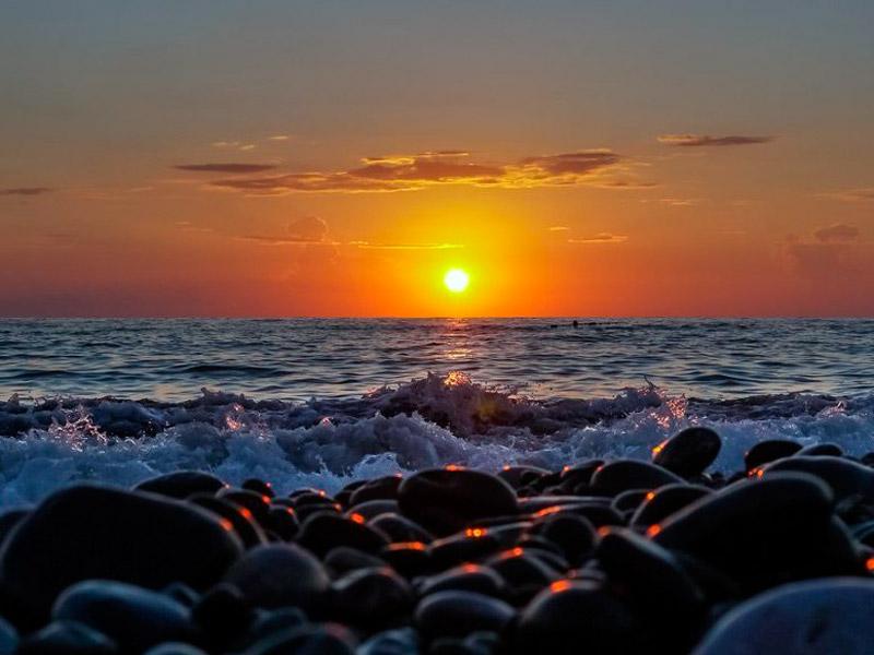 Camping am schwarzen Meer - Sonnenaufgang inklusive!