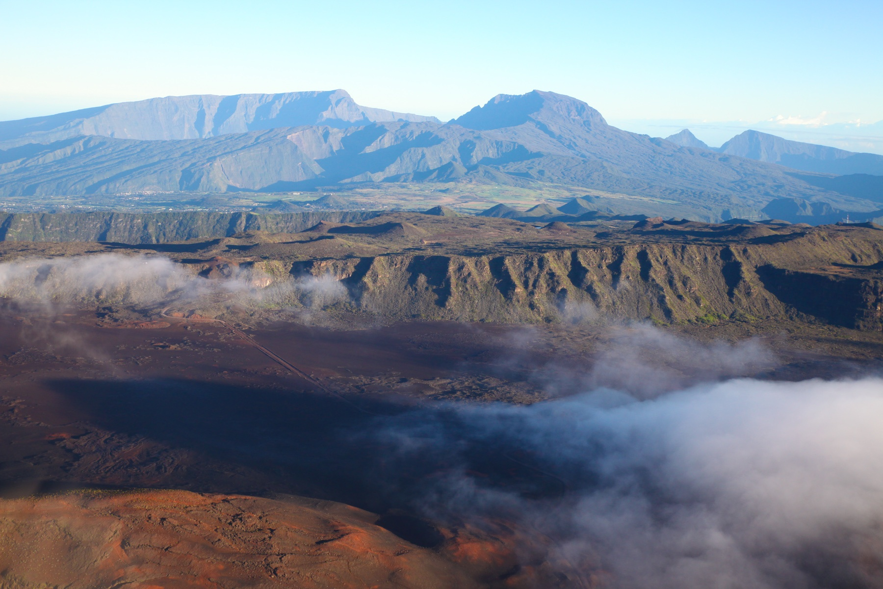 La Réunion Highlights: Helikopter Flug über die Insel