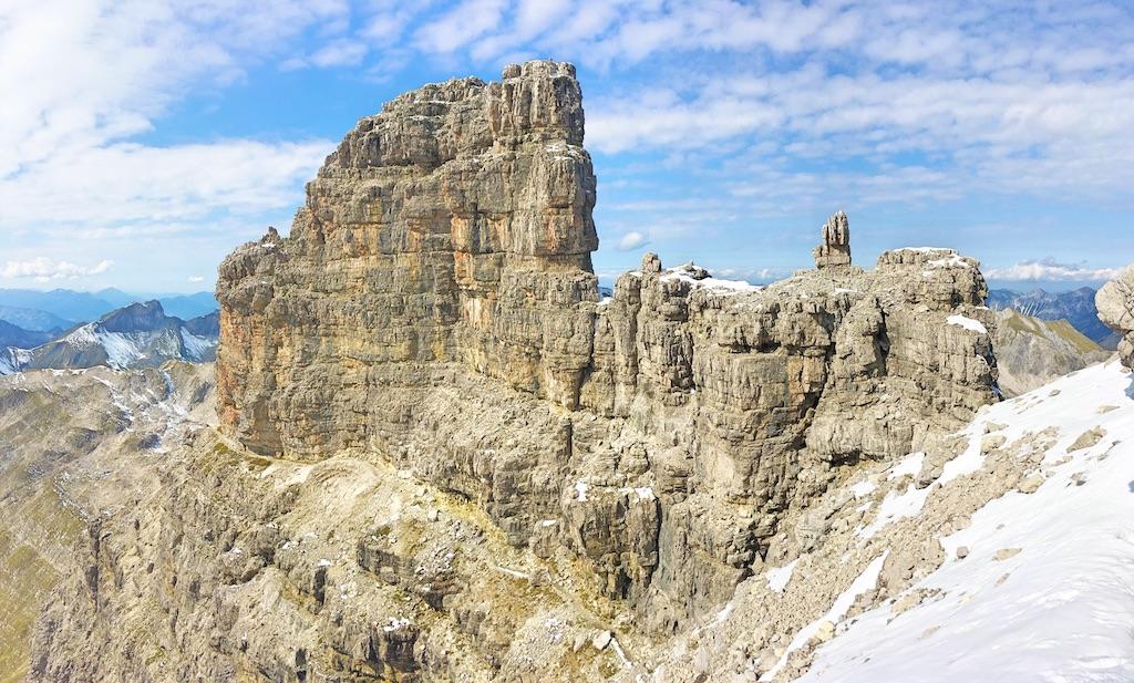 Bergtour Hochvogel: Wunderschöne Felsformationen und beeindruckendes Panorama.