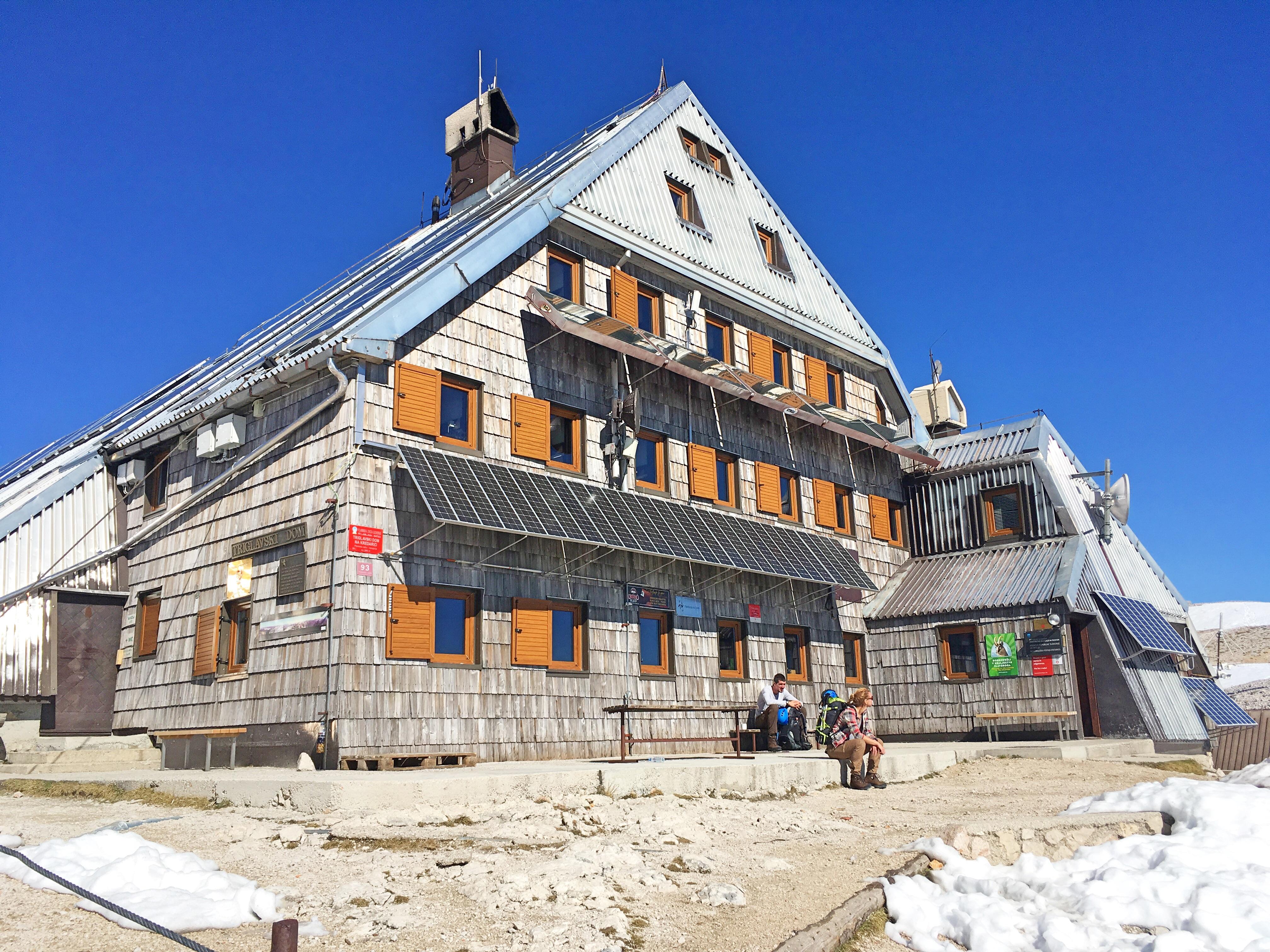 Das Triglav Haus: Ausgangspunkt für die Triglav Gipfelbesteigung.