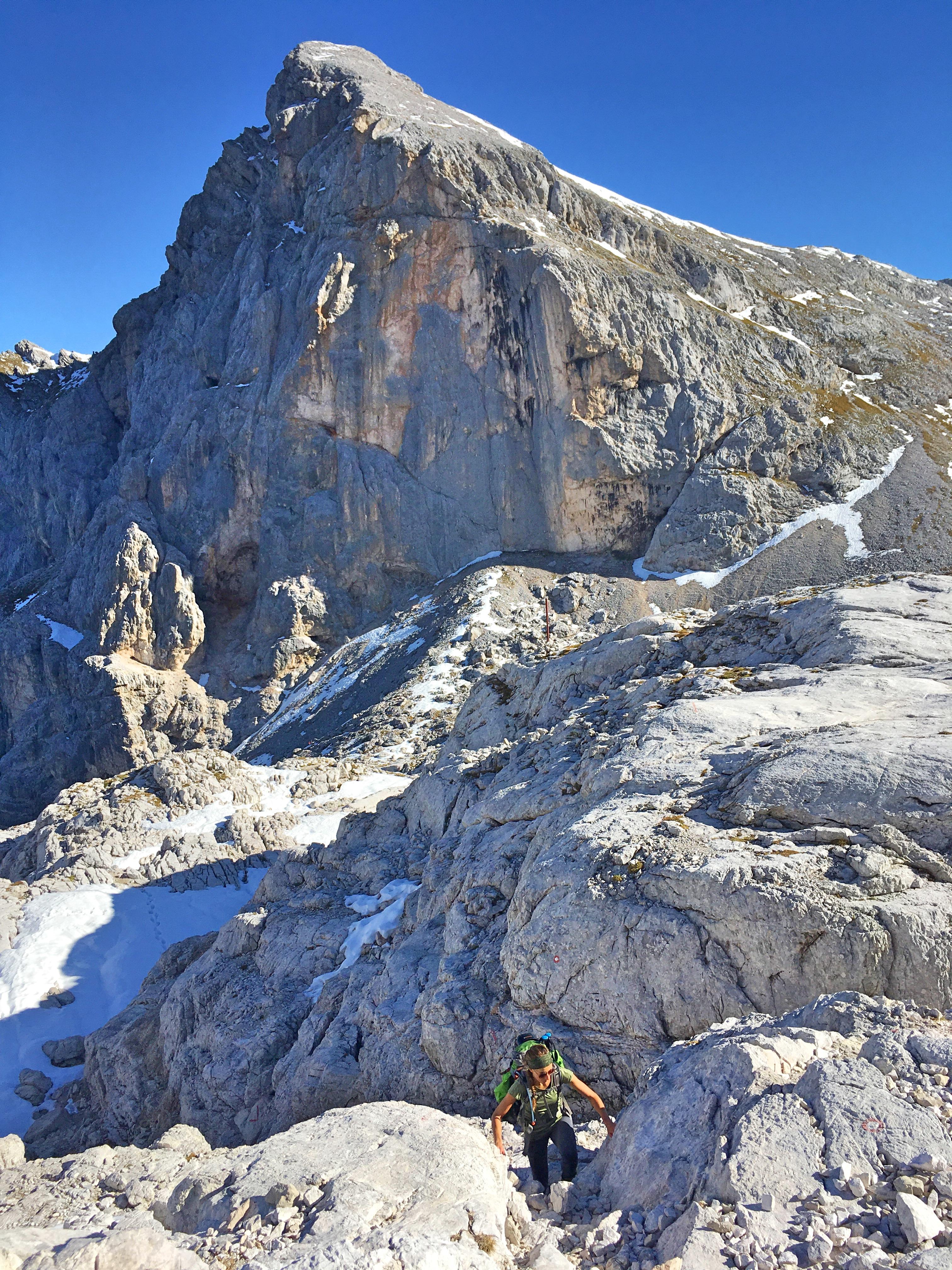 Triglav Besteigung: Unterwegs zum König der Julischen Alpen.