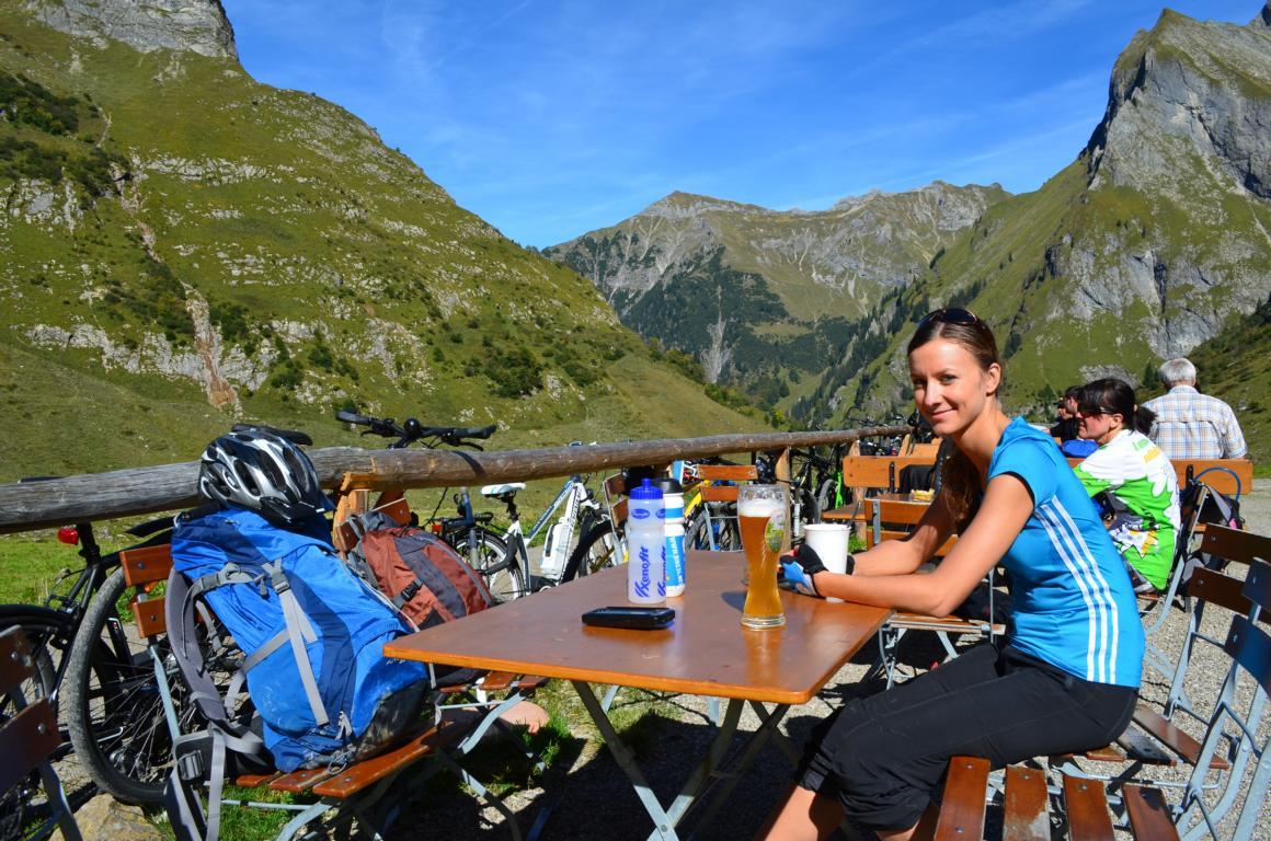 Spontaner Kurztrip gefällig? Wie wäre es mit Mountainbiken und Hüttenschmaus im Allgäu?