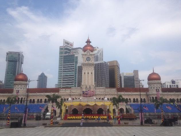 Ausblick vom Merdeka Square in Kuala Lumpur