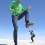Fotospaß in der Salzwüste von Uyuni