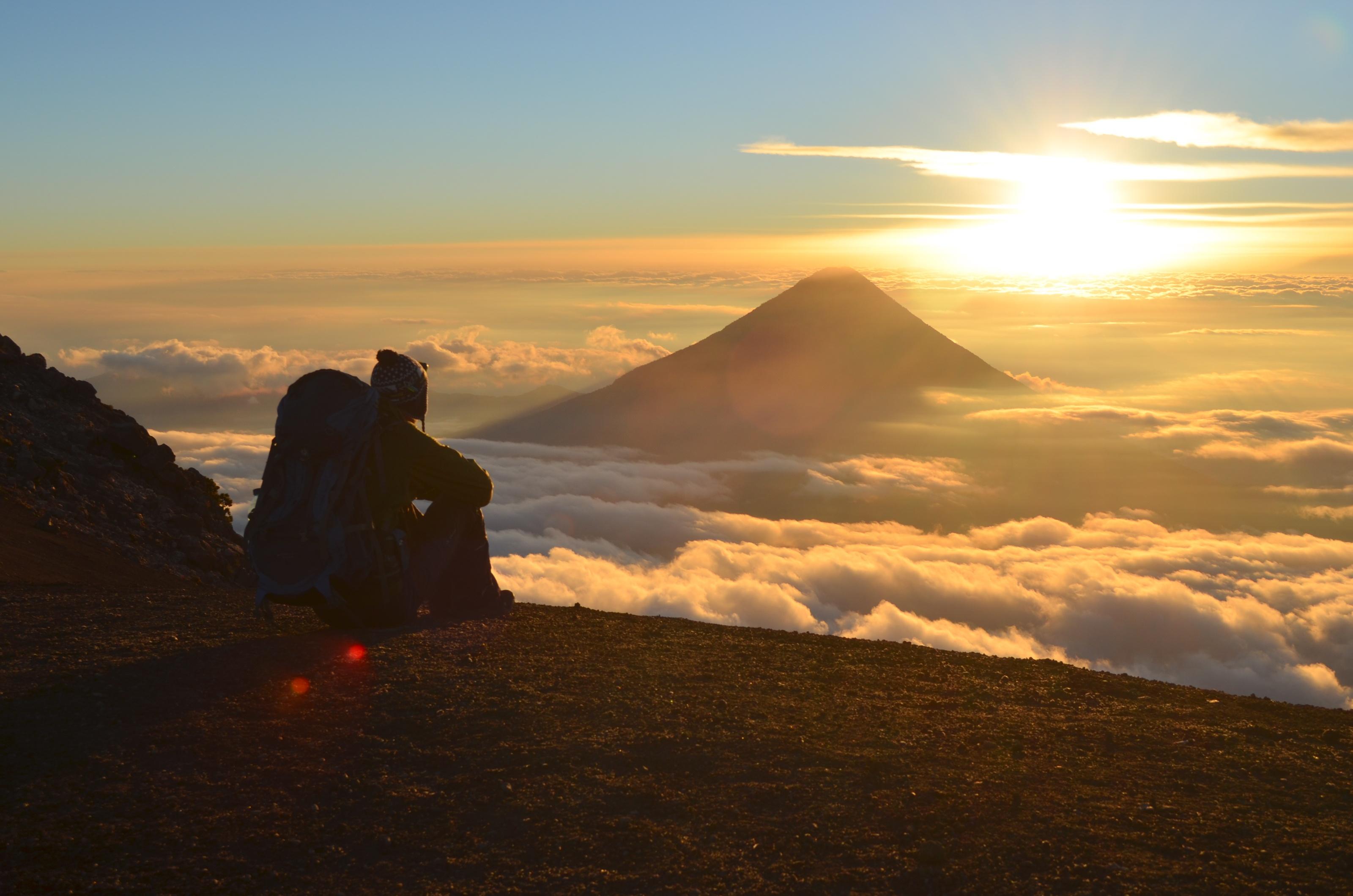 Acatenango Vulkanwanderung: Lava, Schweiß und Marshmallows
