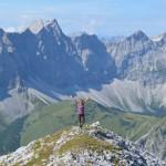 Wandern in den Alpen 2015