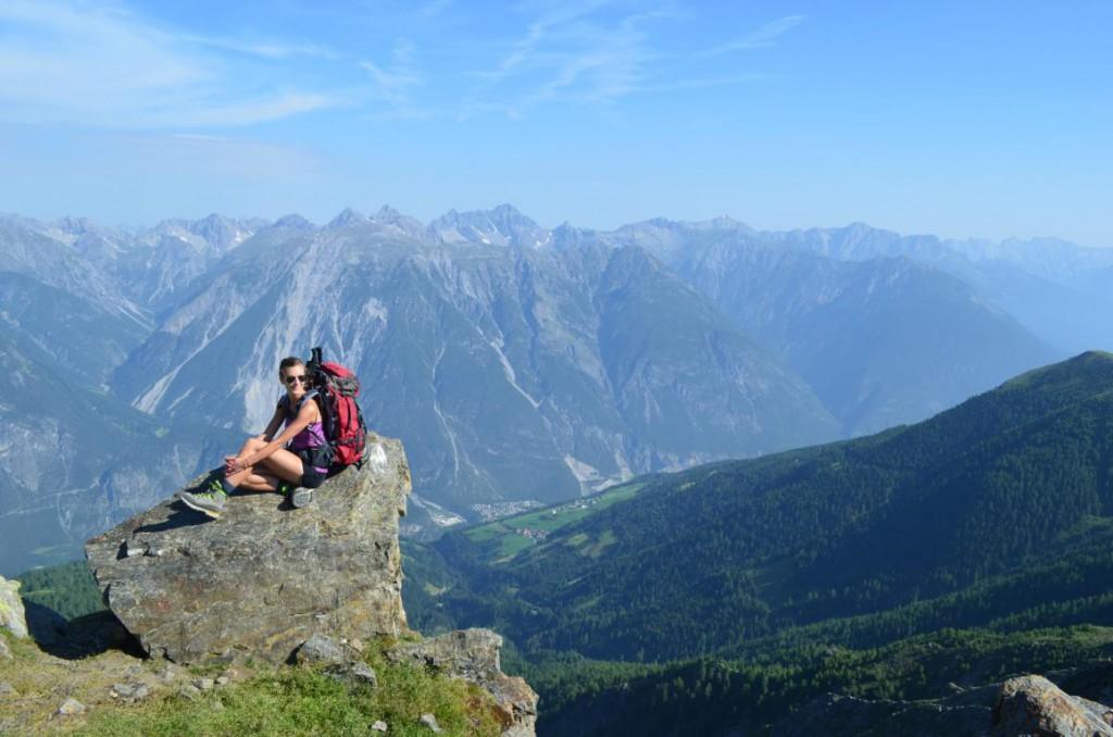 Unendliche Weiten: Zu Fuß über die mächtigen Alpen.