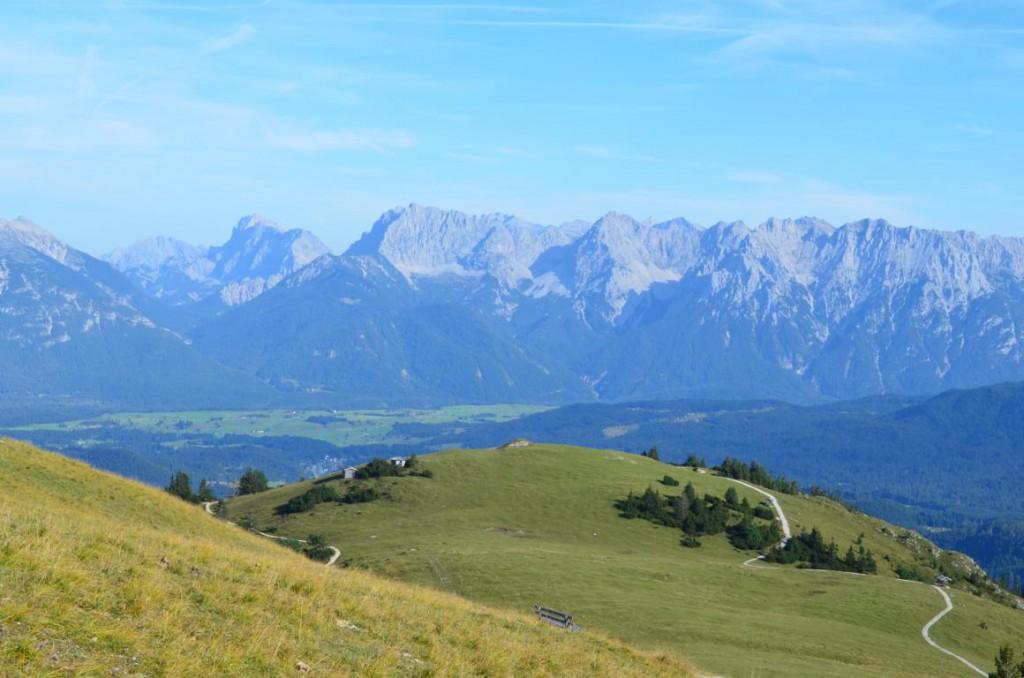 Der Sonnenberg von Garmisch-Partenkirchen: 360° Panorama vom Wankgipfel