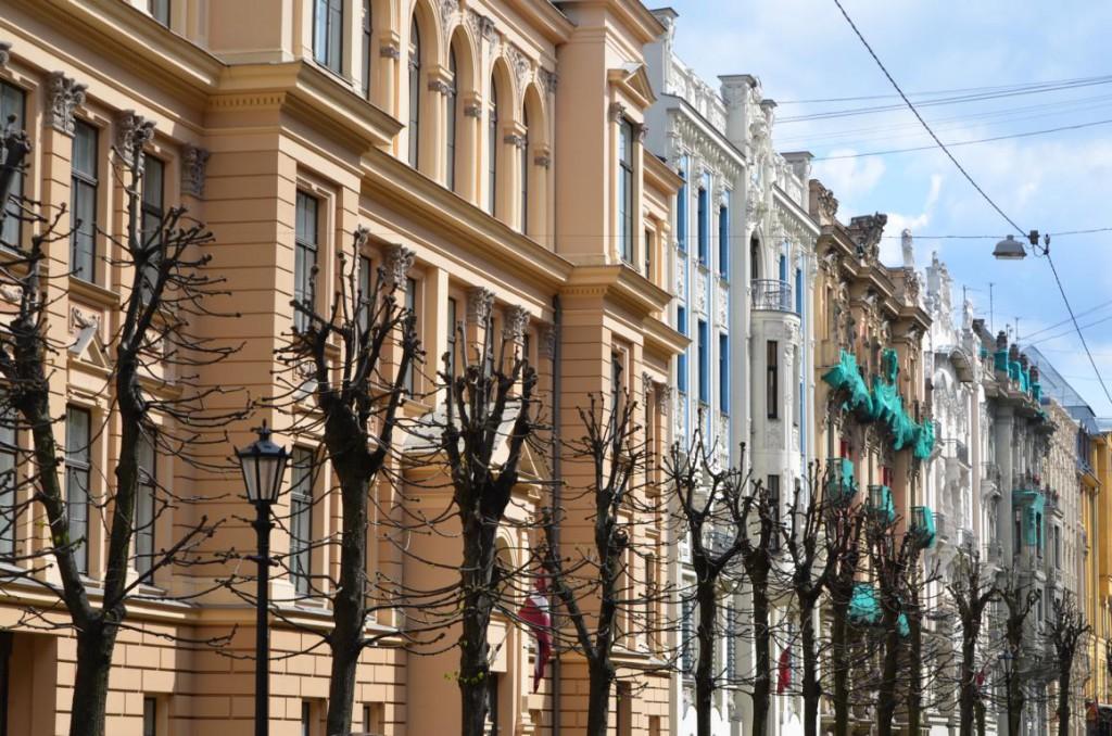 Jugendstilviertel in Riga: 800 Wohnhäuser und eines schöner als das andere...