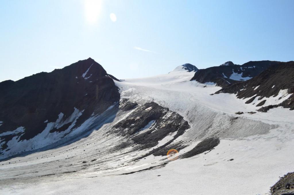 Similiaun: Der höchste Punkt auf der Alpenüberquerung.