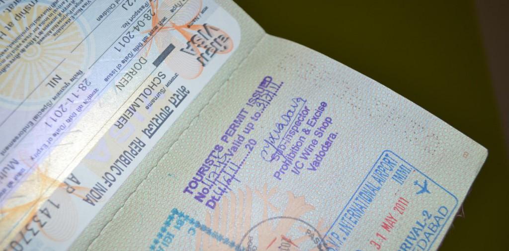Alkoholerlaubnis im Reisepass