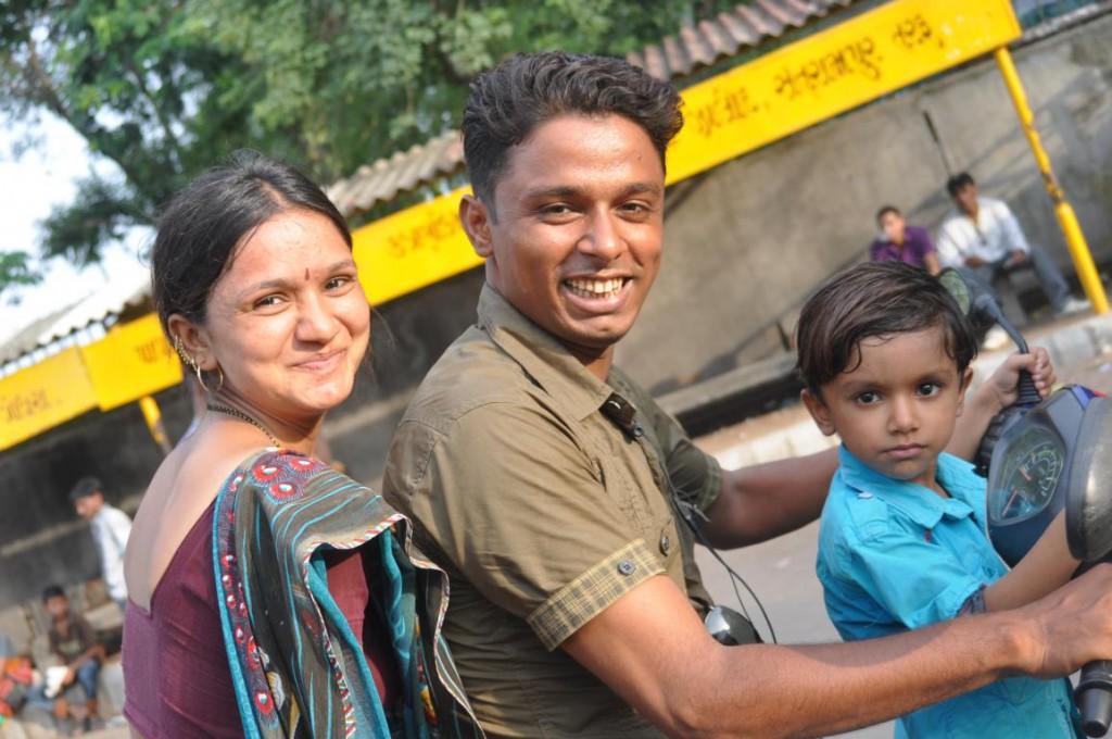 Dress to Impress? Nicht nötig in Indien, denn ihr fallt so oder so auf!