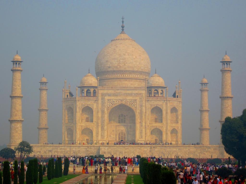 Taj Mahal: Das Wahrzeichen Indiens.