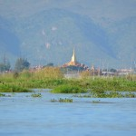 Pagoden im See: Der Inle See.