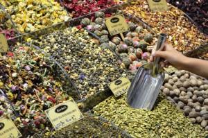 Gewürze, Nüsse und Co. zu günstigen Preisen in Istanbul