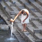 In Pashupatinath kann man die Nepalesen bei ihren religiösen Ritualen beobachten