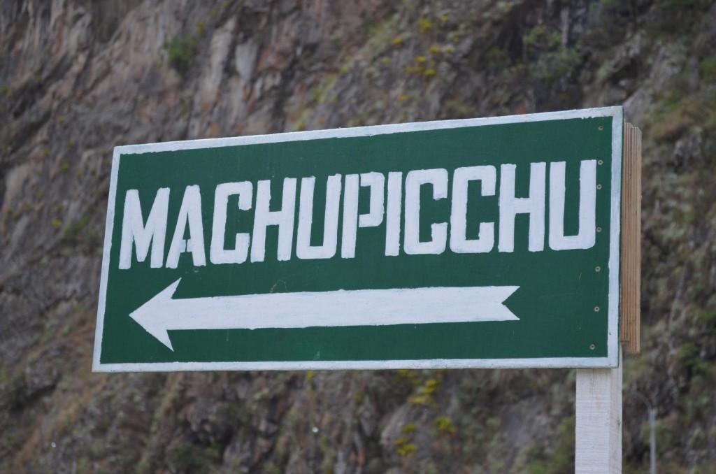 Auf geht's zum Machu Picchu: Eine Tageswanderung entfernt vom Ziel!