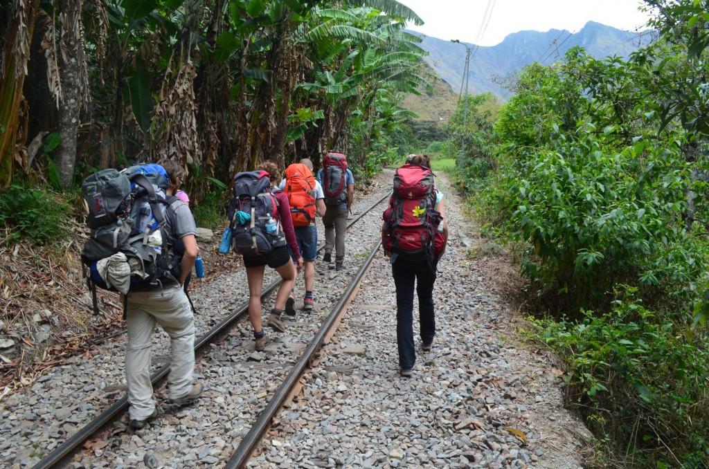 Entlang der Schienen bis nach Aguas Calientes: Machu Picchu ist greifbar nah!