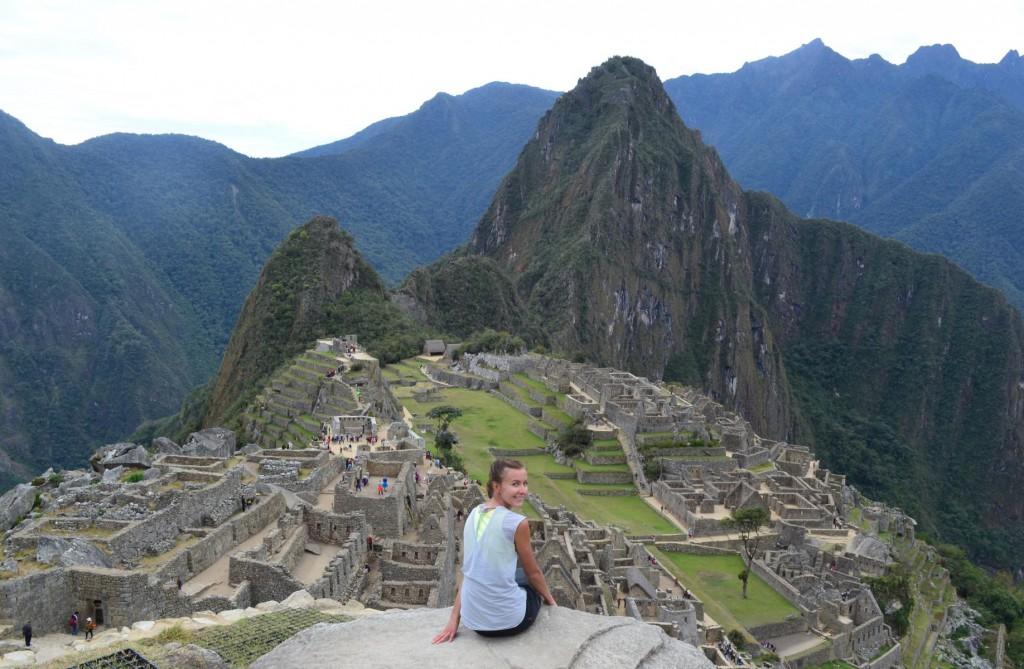 Einmaliger Postkartenblick: Machu Picchu in Peru.