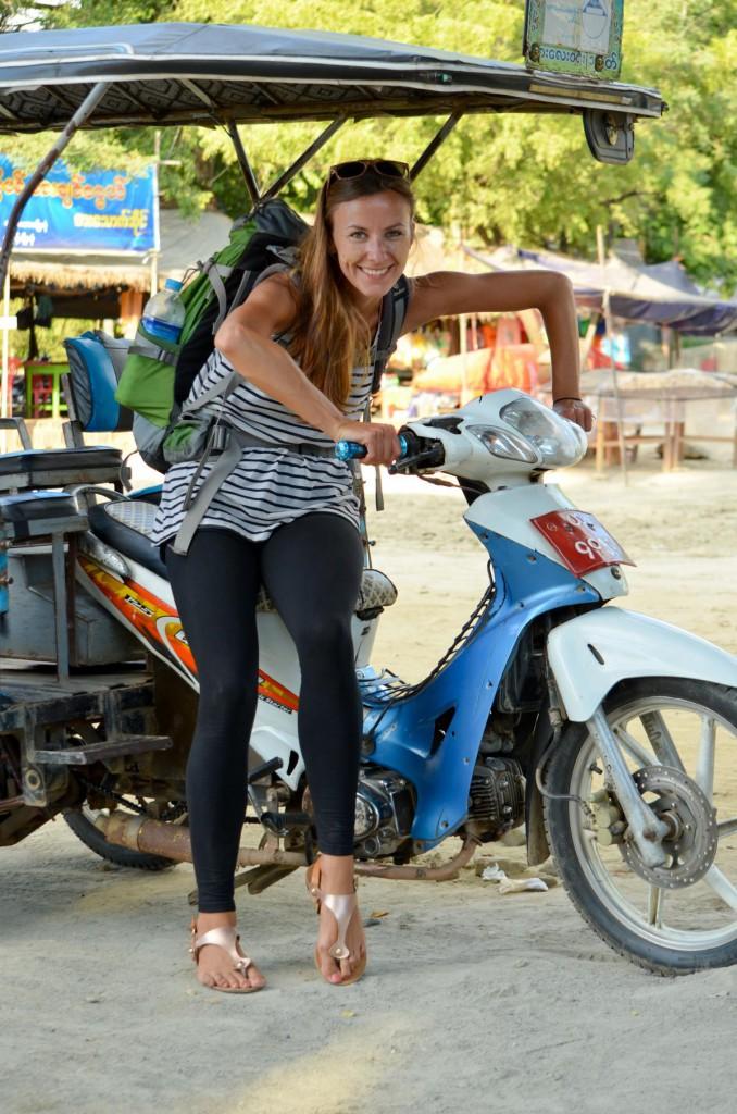 Laut, lauter, am lautesten: Mit der Rikscha durch Myanmar.