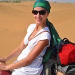 Isolde MaReisen auf dem Kamel