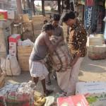 Hektisches Treiben in Kalkutta