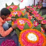 Opfergaben in Haridwar