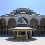 Innenhof Fatih Moschee
