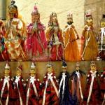 Typische Puppen aus Jaisalmer