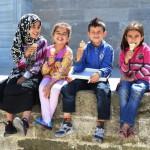 Kinder in der Fatih Mosche