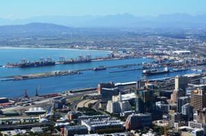 Blick auf den Hafen vom Signal Hill