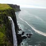 Felsenklippen Isle of Skye, Schottland