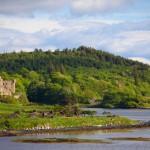 Dunvegan Castle in Schottland