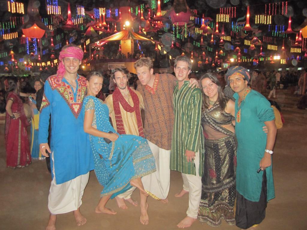 Der Garba ist ein tradioneller Volkstanz aus Gujarat